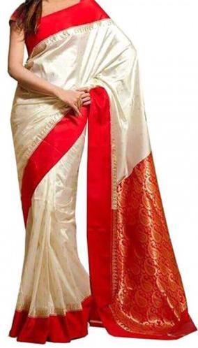 Indian Silk Katan Boishakhi Saree