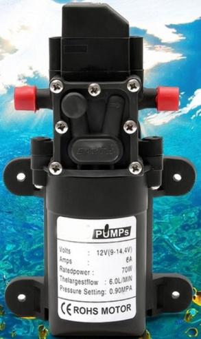 ROHS Motor 12V Full Set Water Pump