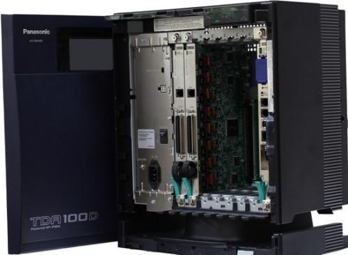 Panasonic KX-TDA100D 24-Port Hybrid IP-PBX System