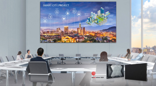 """LG LAEB015 All-In-One 136"""" Indoor LED Signage"""