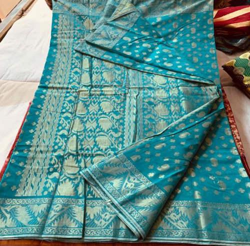 Lurex Thread Work Jamdani Saree PB-8324