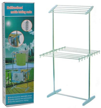 Multifunctional Mobile Folding Rack