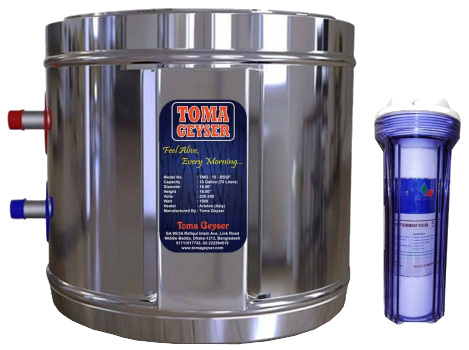 Toma 112L Automatic Electric Geyser Tank
