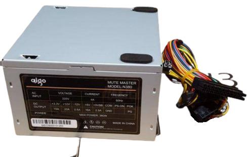 Aigo N380 380W ATX Power Supply