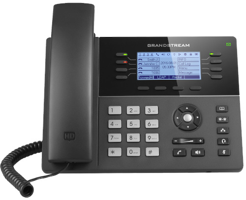 Grandstream GXP1782 8-Line 4-SIP Account PoE IP Phone