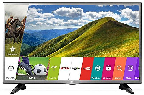 LG 32LJ570U Full HD 32 Inch High Contrast Wi-Fi Smart TV