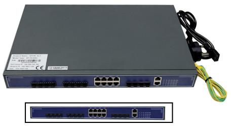 BT-PON BT-P6108H 4 x 10GE Uplink 8-Port EPON OLT