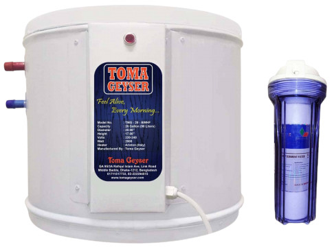 Toma 90L Automatic Electric Geyser with Filter