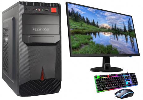 "Desktop PC Core i3 10th Gen 500GB HDD 18.5"" HP Monitor"