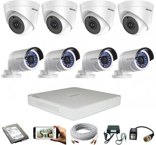CCTV Package Dahua 8-CH DVR 8 Pcs 5MP Camera