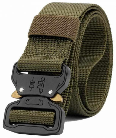 Outdoor Multifunction Tactical Military Belt for Men