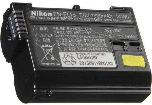 EN-EL15 Rechargeable Battery for Nikon