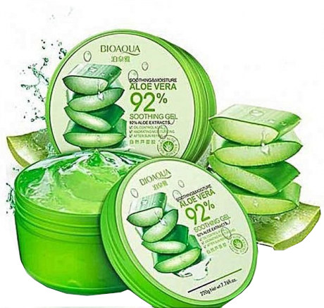 Bioaqua 92% Soothing and Moisture Aloe Vera Gel-220gm