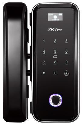 ZKTeco GL300 Hybrid Fingerprint Glass Door Lock