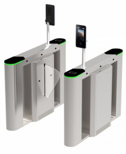 ZKTeco FBL6000 Pro Flap Barrier with Modular Design
