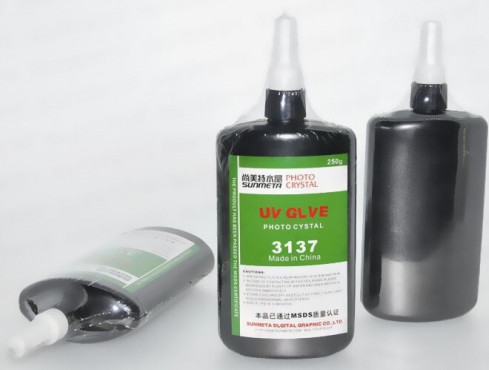 250ml Shadowless Adhesive Crystal Glass UV Glue