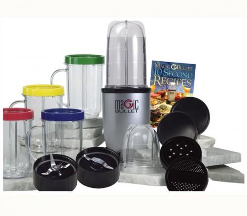 Magic Bullet 21pcs Food Processor Juicer Blender Recipes Set