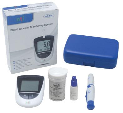 NTI BGM-208 Blood Glucose Monitoring System