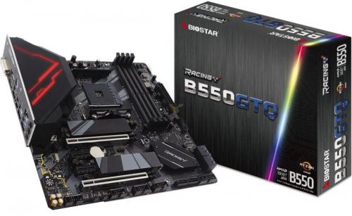 Biostar Racing B550GTA Sata 6Gbps ATX AMD Motherboard