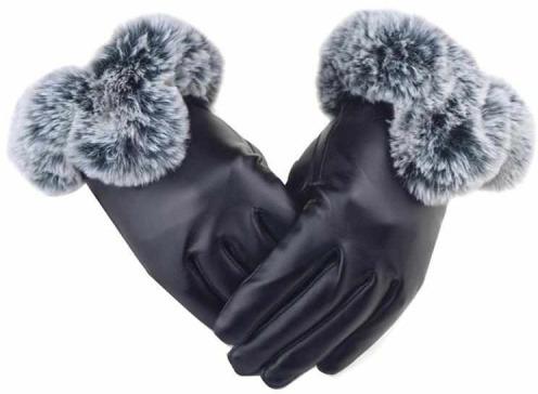 Soft Inner Warm Touch Screen Winter Gloves for Women