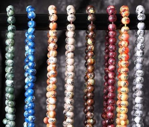 Marble Plastic Tasbeeh