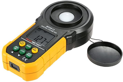 Peakmeter MS6612 Digital 200000 Lux / FC Light Tester