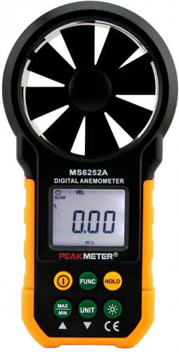 Peakmeter MS6252A Digital Anemometer