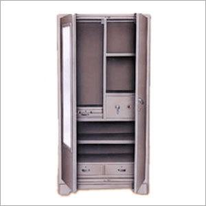 Standard Steel Almira Double Door And Multi Shelves Price