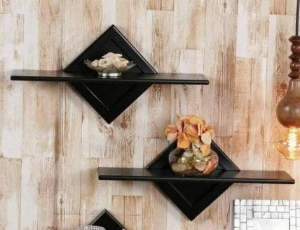 Wood Floating Wall Shelf