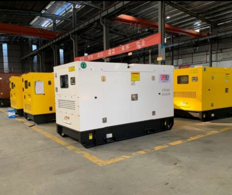 Ricardo 125 kVA Water Cooled Diesel Generator