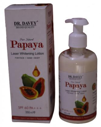 DR. Davey Papaya Laser Whitening Lotion- 350ml