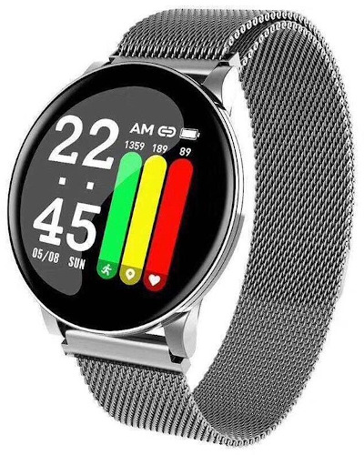 W8 Plus Metal Smart Watch