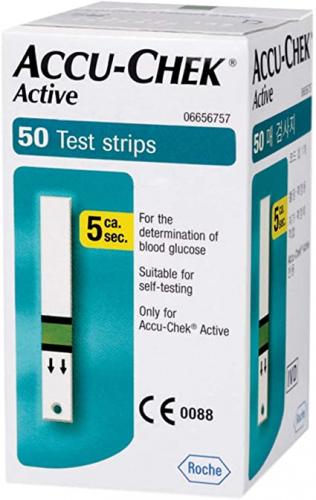 Accu-Chek Active 50 Pieces Test Strip