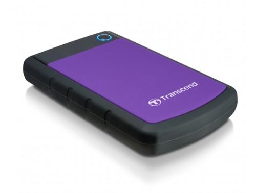 Transcend StoreJet 25H3P 1TB USB 3.0 Portable Hard Disk