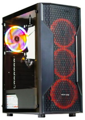 View One F09B Gaming Casing Without Power Supply