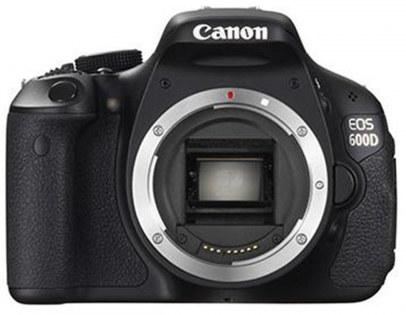 Canon EOS 600D (Body) DSLR Camera