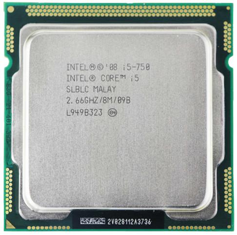 Intel Core i5-750 2.66 GHz Processor
