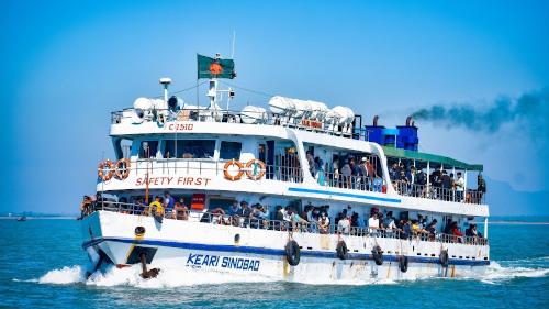 Keari Sindbad Teknaf to Saint Martin Ship Ticket