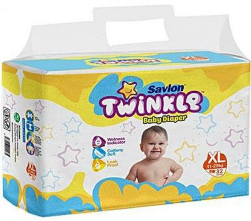 Savlon Twinkle Baby Diaper XL