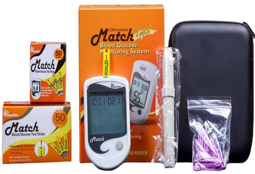 OKmeter 1B Match Blood Glucose Monitoring System