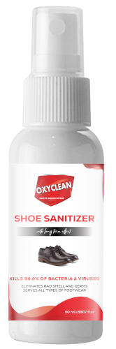 Oxyclean Shoe Spray Sanitizer 50ml