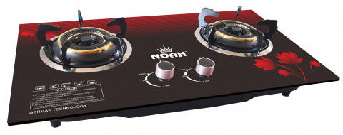 Noah NGS-ZEO-8 Series 7mm Glass Gas Stove