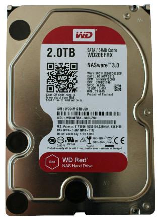 Western Digital WD20EFRX 2TB Red NAS Hard Drive