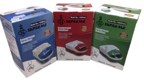 Supreme Nebulizer 108 Red / Green / Blue