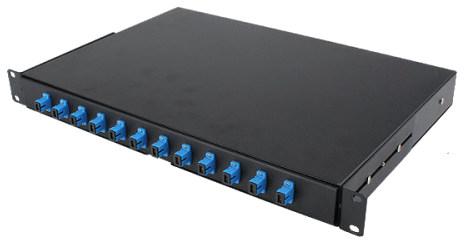 Rosenberger 12 Port SC-SC Fiber Patch Panel Rack