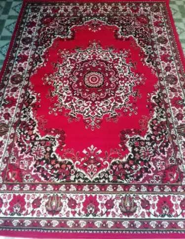 Superking Red Colour Carpet