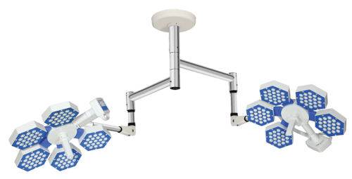 Technomed TMI HEX CT 5 + 5 LED Surgical Light