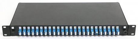 Rosenberger 24 Port LC-LC Fiber Patch Panel 1HU