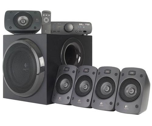 Logitech Z906 THX-Certified 500watts (RMS) 5:1 Speakers