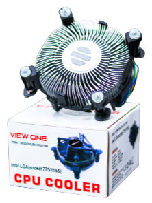 View One CPU Cooler Fan